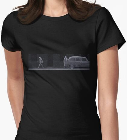 but I've got a... taxi... Womens Fitted T-Shirt