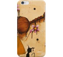 Painting Flowers iPhone Case/Skin