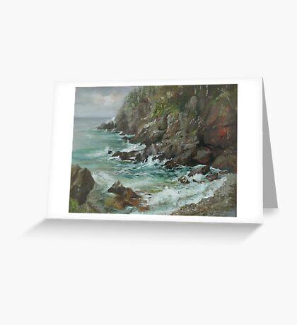 Quaddie Cliffs Greeting Card