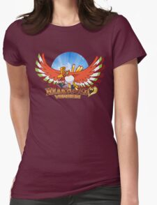 Heart Gold Womens Fitted T-Shirt