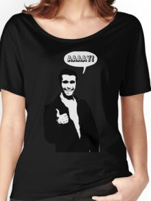 Happy Days Fonzie T-Shirt Women's Relaxed Fit T-Shirt
