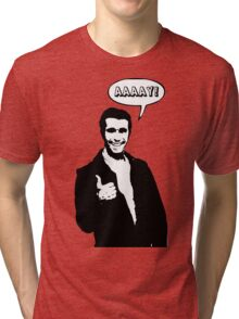 Happy Days Fonzie T-Shirt Tri-blend T-Shirt
