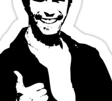 Happy Days Fonzie T-Shirt Sticker