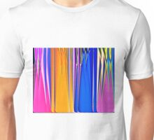Coloured Glass Bottles Unisex T-Shirt