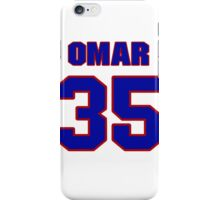 National baseball player Omar Quintanilla jersey 35 iPhone Case/Skin