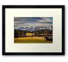 Mountain View, Austria Framed Print