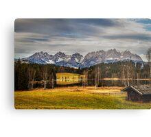 Mountain View, Austria Metal Print