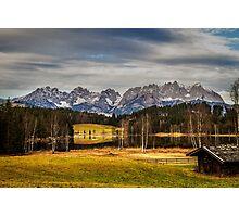 Mountain View, Austria Photographic Print