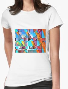 Cubist Rolling Hills Womens Fitted T-Shirt