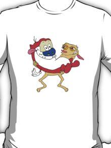 Retro Ren & Stimpy Tribute T-Shirt