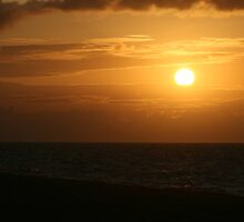 Sunset at Weybourne Camp by cappa