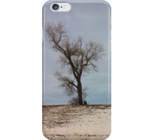 Turn left at the tree... iPhone Case/Skin