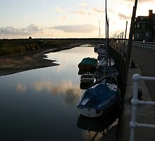 Sunrise at Blakeney Harbour 2 by cappa