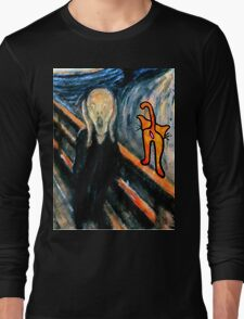 Cats Are Nothing To Scream About! Long Sleeve T-Shirt