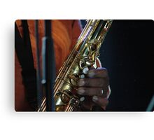 jazz fingers Canvas Print