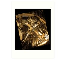 Iconography of the Engine Art Print