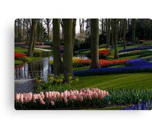 Keukenhof Garden Canvas Print