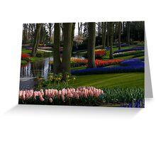 Keukenhof Garden Greeting Card