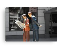 Not Real! Canvas Print
