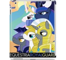 Equestrian royal guard iPad Case/Skin
