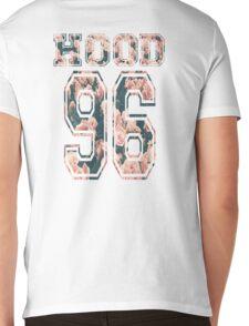 Hood ,96-Floral Mens V-Neck T-Shirt