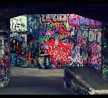 Southbank_Graffiti by daveyt