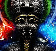 Osiris, Ausar...Egyptian God of the Afterlife by CodyNorris
