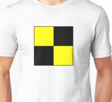 International maritime signal flags sea alphabet collection letter l Unisex T-Shirt