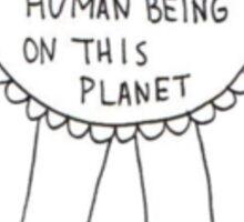 Awkward Human Being #1 Sticker