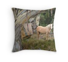 """You Can't See Me"" Throw Pillow"