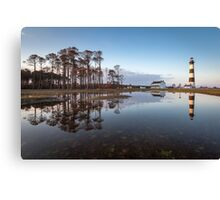 North Carolina Bodie Island Lighthouse Cape Hatteras National Seashore Canvas Print