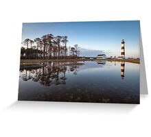 North Carolina Bodie Island Lighthouse Cape Hatteras National Seashore Greeting Card