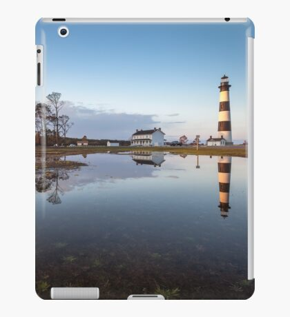 North Carolina Bodie Island Lighthouse Cape Hatteras National Seashore iPad Case/Skin
