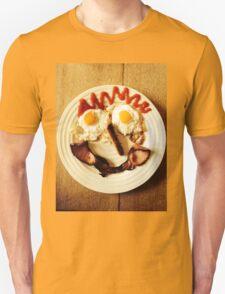 Friendly Breakfast Face  Unisex T-Shirt