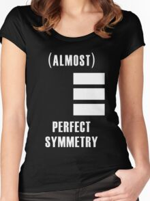 (Almost) Perfect Symmetry Women's Fitted Scoop T-Shirt