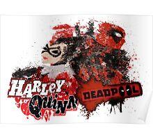 Harley Quinn VS Dead Pool v1 Poster