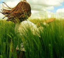 dancing in the wheat. by x99elledge