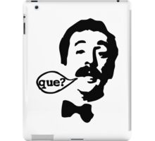 Fawlty Towers Manuel Que T-Shirt iPad Case/Skin