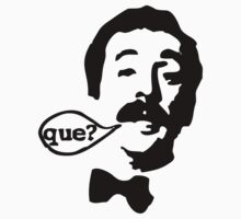 Fawlty Towers Manuel Que T-Shirt by Cinemadelic