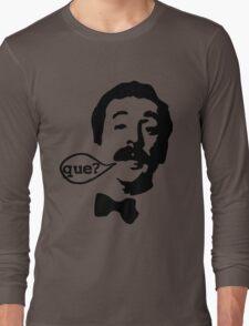 Fawlty Towers Manuel Que T-Shirt Long Sleeve T-Shirt