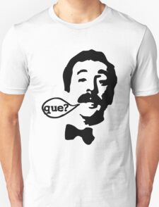 Fawlty Towers Manuel Que T-Shirt Unisex T-Shirt