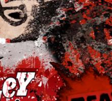 Harley Quinn VS Dead Pool v1 Sticker