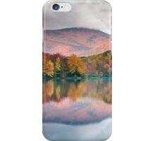 Grandfather Mountain Price Lake Autumn Reflections Blue Ridge Parkway iPhone Case/Skin
