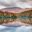 Grandfather Mountain Price Lake Autumn Reflections Blue Ridge Parkway by MarkVanDyke