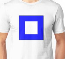 International maritime signal flags sea alphabet collection letter p Unisex T-Shirt
