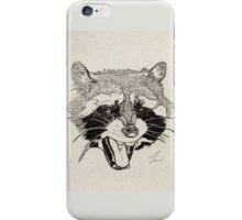 Rockin' Raccoon iPhone Case/Skin