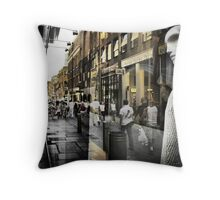 Inside - Looking Out Throw Pillow