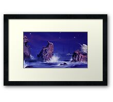 Sea Battlegrounds Framed Print