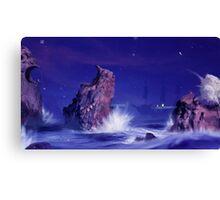 Sea Battlegrounds Canvas Print