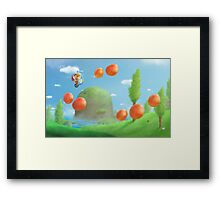 Nothing will stop that kid! Framed Print